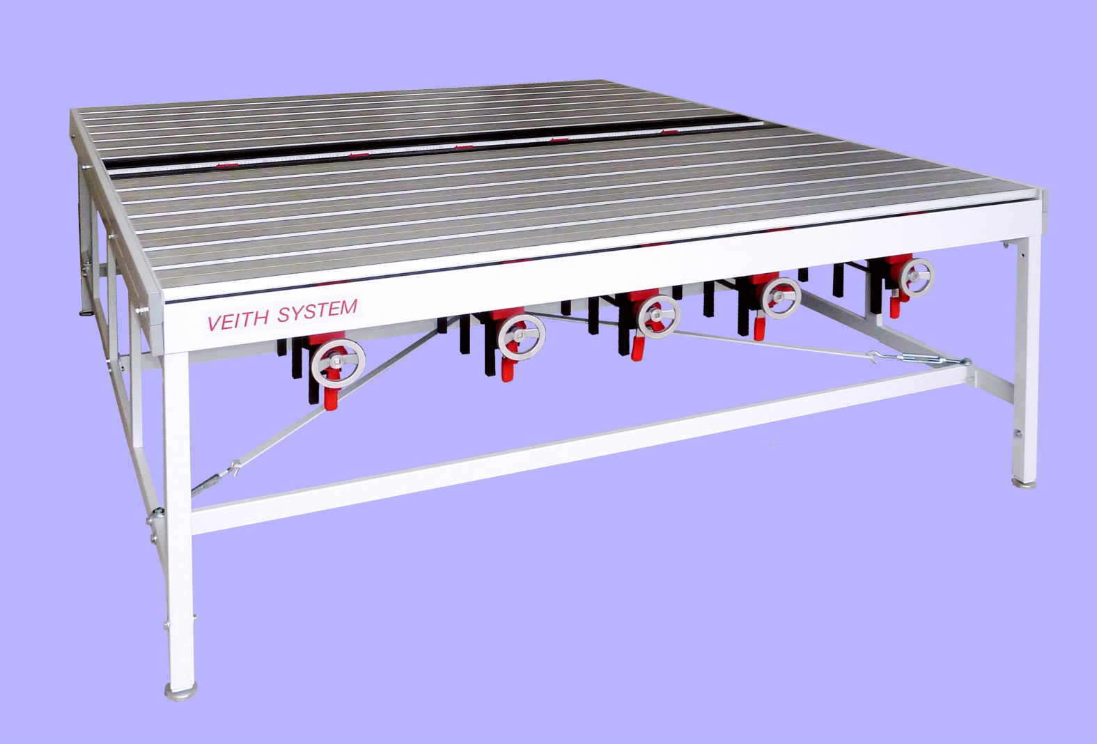 Veith Pin Table - for flat knitted fabrics